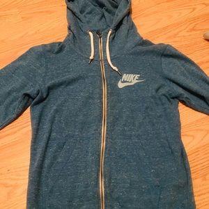 Nike zip up hoodie sweatshirt, like new!